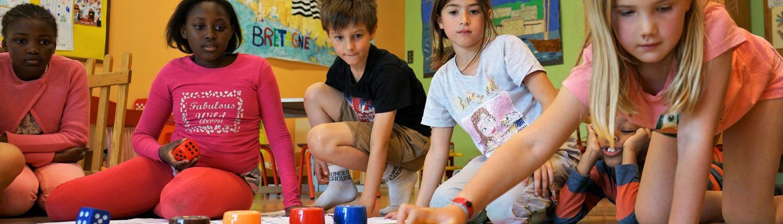 Enfants Jeu de l'oie sur la transition énergétique et écologique